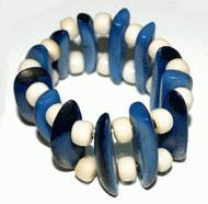 White-Blue Bracelet