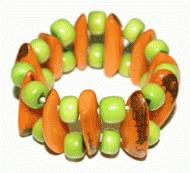 Green-Orange Bracelet