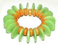 Orange-Green Bracelet